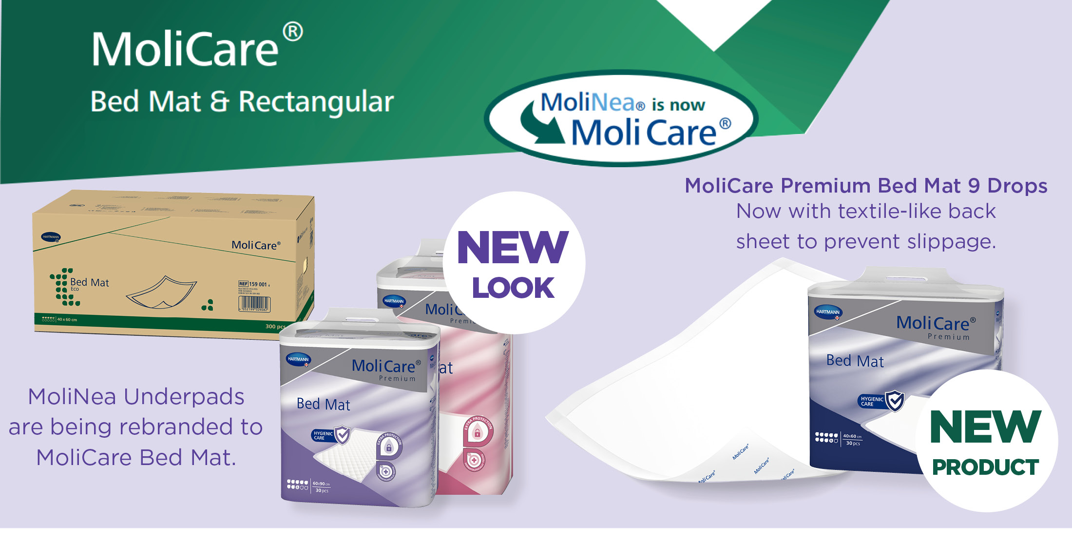 MoliCare bed mats