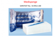 Medisponge 73x53x23mm Individually wrapped -