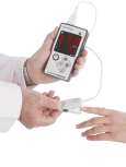 Huntleigh MiniPulse Oximeter with adult probe