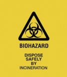 Biohazard Bag Yellow
