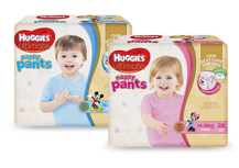 Huggies Girl Nappy Pants Ultimate Walker 14-18kg