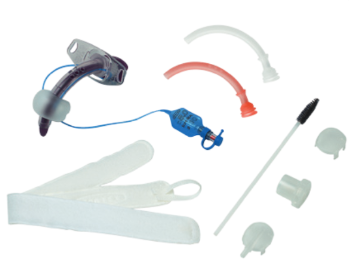 Portex Blue Line Soft Seal Cuffed Fenestrated Tracheostomy
