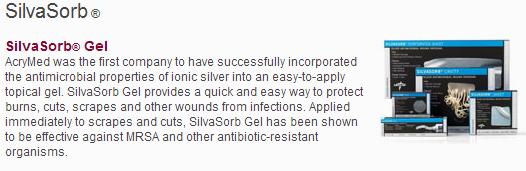 Silvasorb Gel Usl Medical